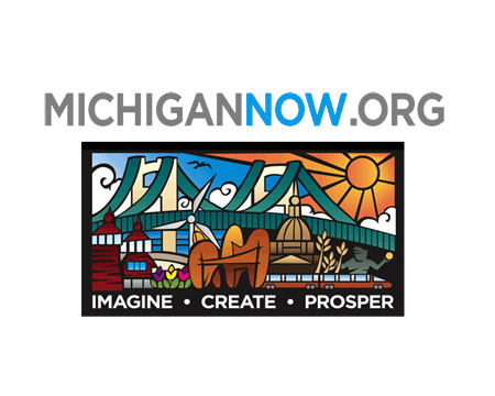 Logo for MichiganNow.org