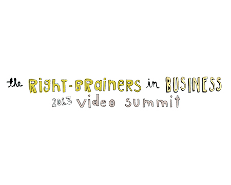 Logo for The Right-Brainers in Business 2013 Video Summit